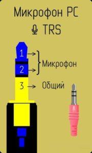 Микрофон TRS