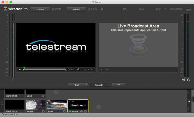 Программа Wirecast Play