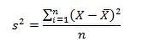 Формула дисперсии
