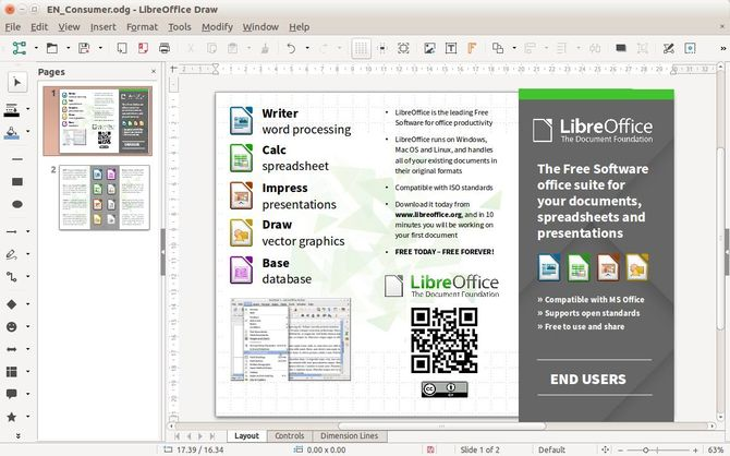 Утилита LibreOffice