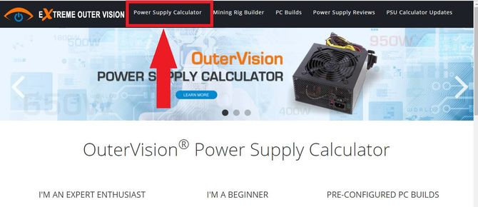 Power Supply Calculator