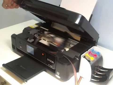 СНПЧ в принтере