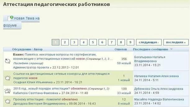 Форум в интернете