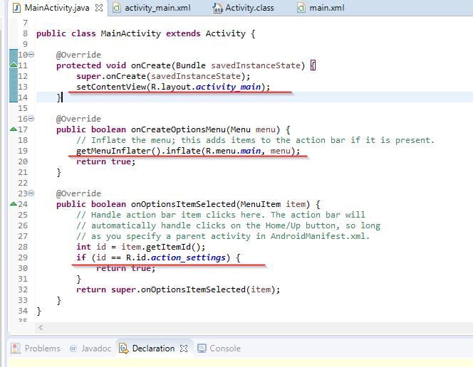 Код в XML