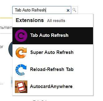 Tab Auto Refresh