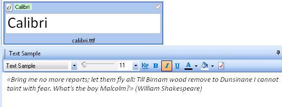 Программа Font Expert