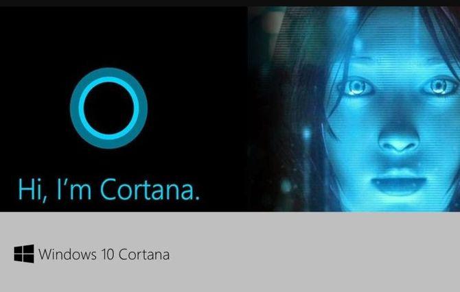Кортана в Windows 10