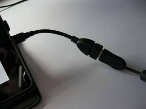 Подключение о кабелю