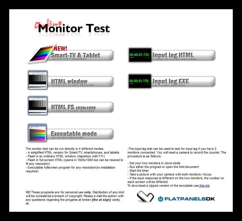 Vanity Monitor Test