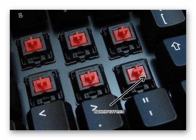 Механические клавиши