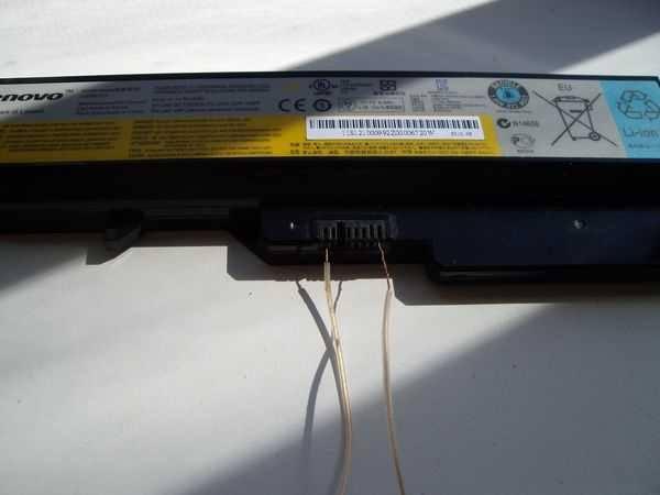 Подключение батареи