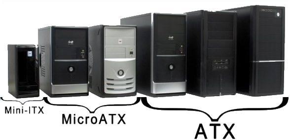 Размеры системного блока
