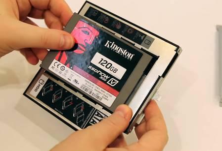 Установка в SSD
