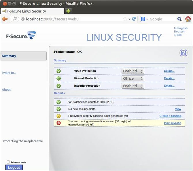 F-Secure Linux Security