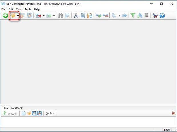 Открытие файлов