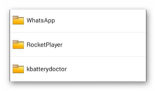 Папки на Андроиде