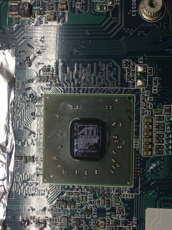 Как поменять чип