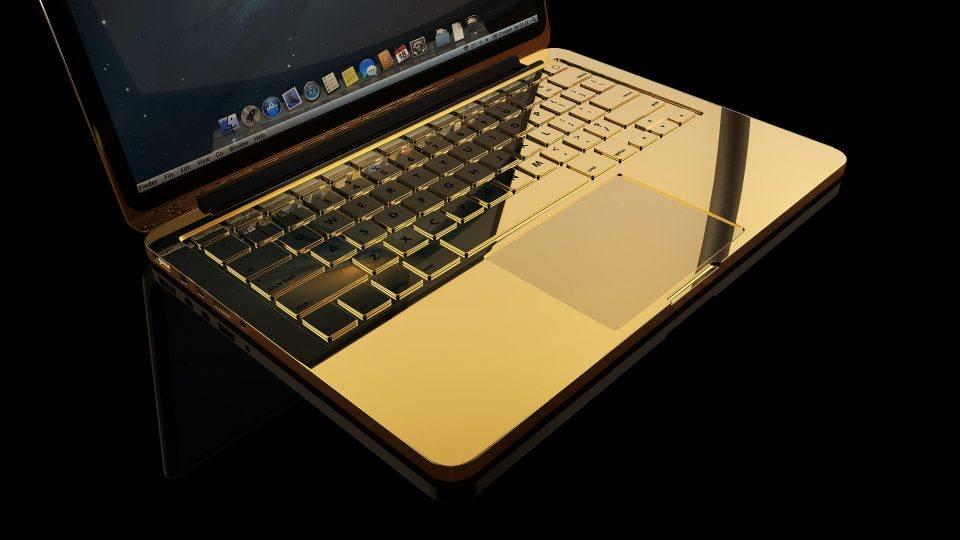 MacBook Pro в золотом корпусе