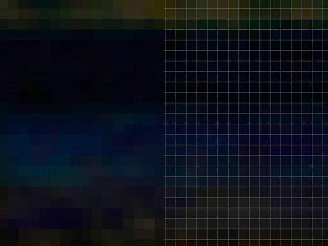 Пиксельная сетка