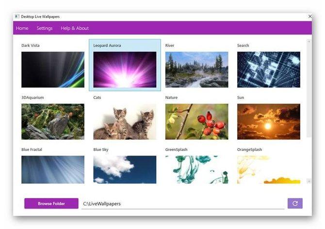 Desktop Live Wallpapers
