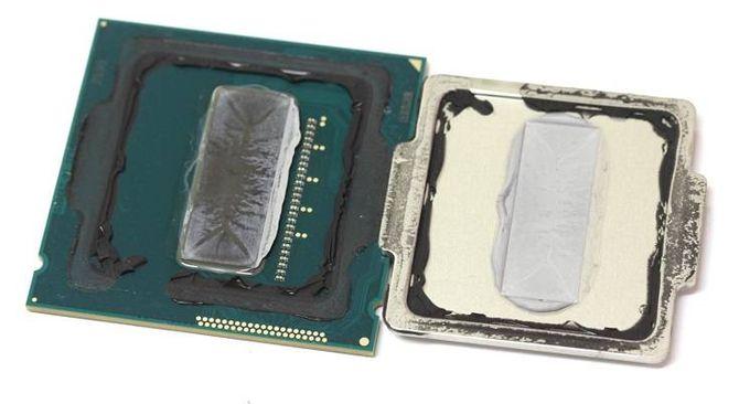 Термопаста в процессоре