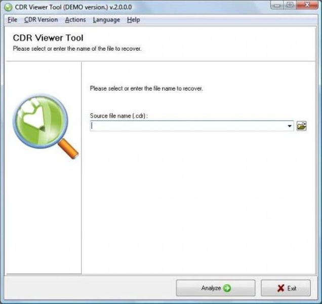CDR Viewer