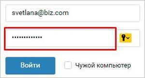 пароль под звезочками